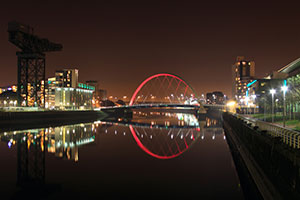 Glasgow's Clydeside and Squinty Bridge