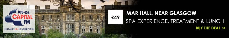 £49 for a luxury Spa Experience for 1 person at the 5* Mar Hall Golf & Spa Resort