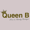 Queen B Hair & Beauty logo