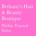Bethany's Hair & Beauty Boutique within Twisted Sister  logo