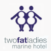 Two Fat Ladies at Marine Hotel logo