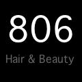 806 Hair and Beauty logo