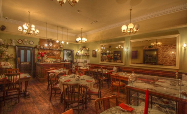 The Tearooms At Butterfly And The Pig Glasgow