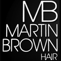 Martin Brown Hair logo